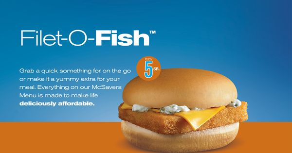 Filet o fish for a limited time pinterest fish for Mcdonalds filet o fish deal