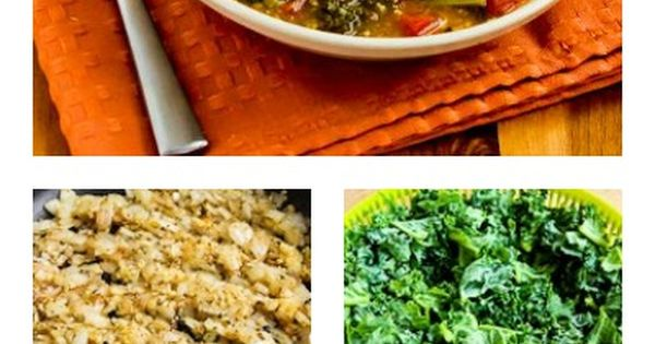 Slow Cooker Vegetarian Cannellini Bean And Kale Soup With Shaved ...