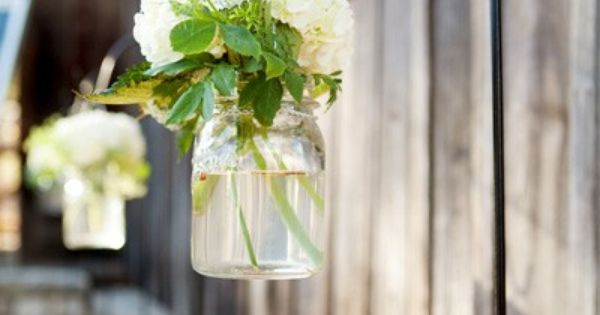 Hanging arrangements hortensia diy tuin garden idee idea deco decorating decoration - Outdoor tuin decoratie ideeen ...
