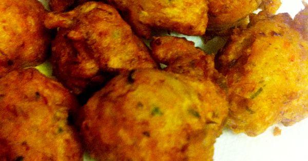 Bajan Fish Cakes Finger Food Barbados Pinterest