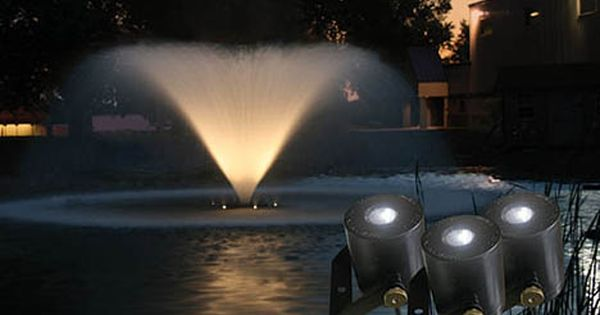 Kasco 3 Led Light Fountain Lighting Kit Fountain Lights Pond Aerator Pond Fountains