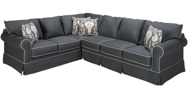 Klaussner grove 2 piece sectional sectionals for for Jordans furniture nh