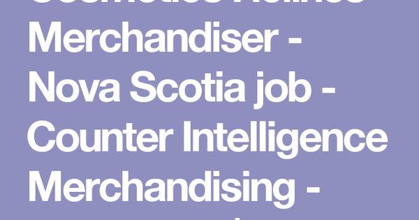 Cosmetics Relines Merchandiser - Nova Scotia job - Counter