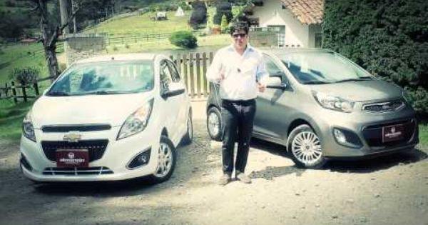 Kia Picanto Ion Vs Chevrolet Spark Gt Almanejo Colombia Chevrolet Spark Kia Picanto Vehiculos