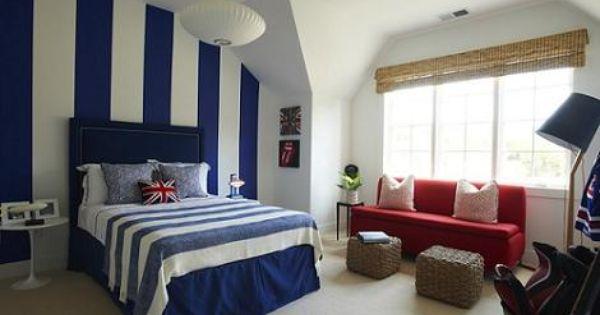 Habitacion juvenil azul habitaciones juveniles pinterest - Habitacion juvenil azul ...