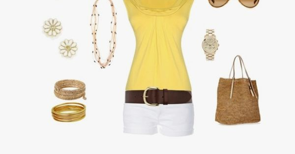 Getting all my warm weather outfits together. Like this one minus the