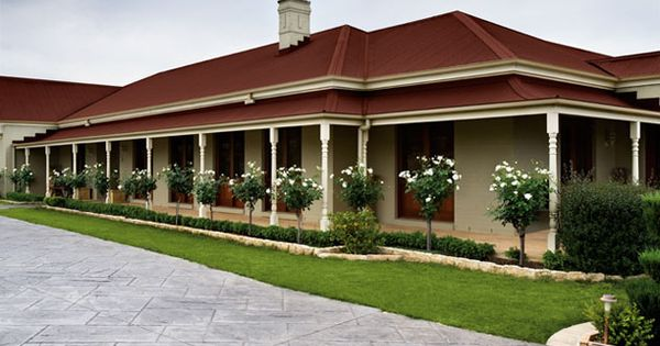 Colorbond Red Roof Colour Scheme Google Search Red Roof Pinterest Roo