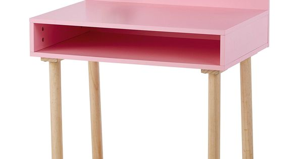bureau enfant en bois rose l 70 cm nuage maisons du monde mdm junior pinterest roses. Black Bedroom Furniture Sets. Home Design Ideas