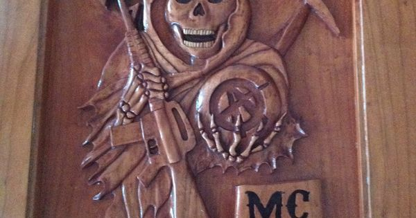 Hand Carved Sons of Anarchy Table by Mrbill89.deviantart ...