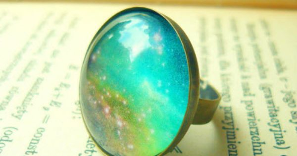 Retro Space, Galaxy Ring, reminds me of the mood rings