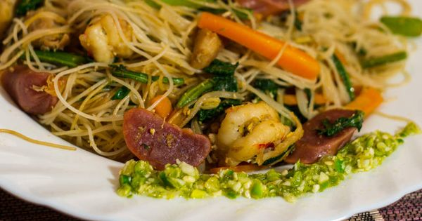 Meefoon frit cuisine mauricienne recette mauritian pinterest cuisine mauricienne frites - Cuisine mauricienne chinoise ...