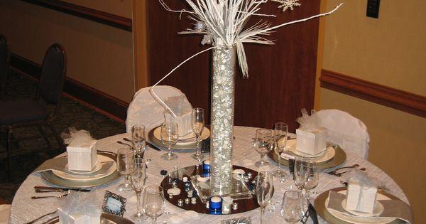 Pinterest Winter Wedding Centerpieces: Centerpieces & Table Decor