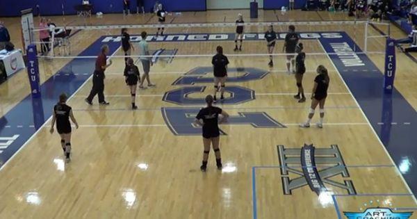 Speed Ball Volleyball Drill Volleyball Drills Speed Ball Coaching Volleyball