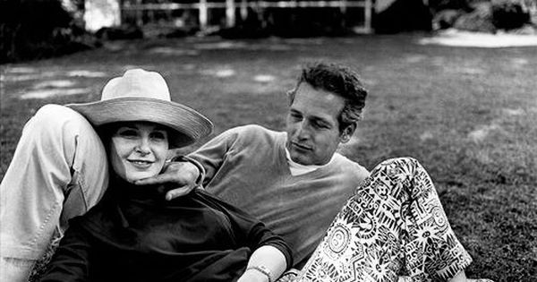 My favorite couple of all time: Paul Newman and Joanne Woodward, photographed
