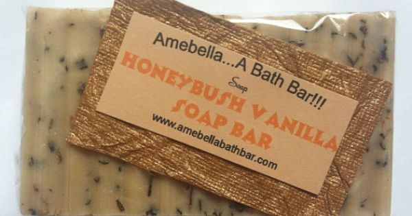 Bar soap - Honeybush Vanilla Soap - Handmade soap, natural ...