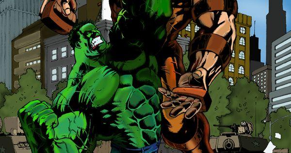 Hulk vs Juggernaut by Alvin Cortez | Marvel Characters ...