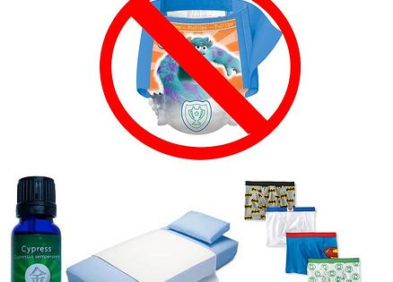 how to stop 4 year old wetting bed at night