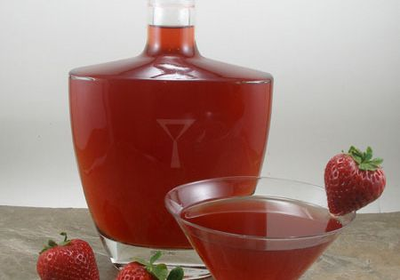 Liqueurs, Strawberries and Homemade on Pinterest