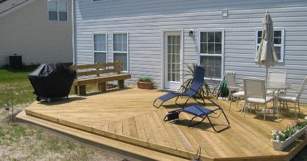 Low Elevation Deck Picture Gallery Deck Ideas