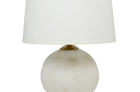 Lighting By Blu Ashwell Table Lamp White And Natural Table Lamp Lamp White Table Lamp