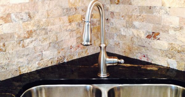 Kitchen Sink In The Corner Home Improvement Pinterest In The