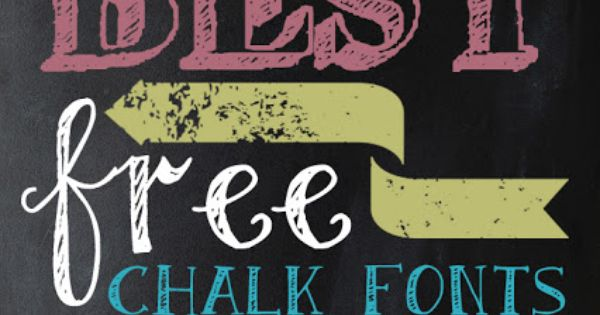 chalkboard font | 25 Awesome FREE Chalk Fonts and 2 Chalkboard Backgrounds.