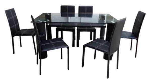 Octvia 1 6 Dining Set Furniture Home Furniture Dining Set