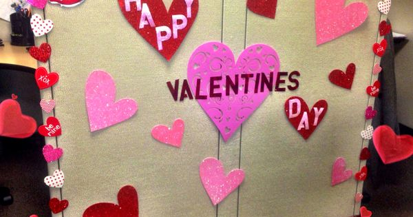 Cubicle Decor Valentines Day Valentine S Day Office