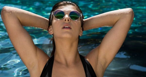 Wet Body, Leah Gotti, Sunglasses, Model Wallpaper