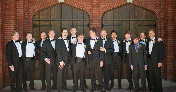 Wedding tie - gents in classic tuxedos | Tim Will #wedding