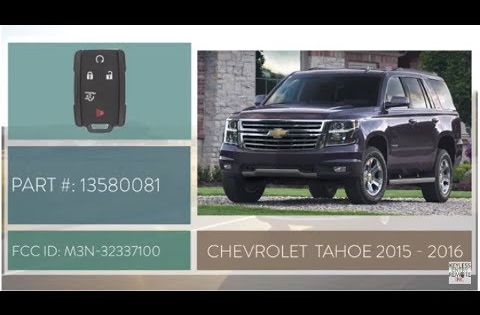 How To Change A 2015 2019 Chevy Tahoe Key Fob Battery Part 13580081 Key Fob Programming Instructions Chevrolet Tahoe Chevrolet Tahoe 2015 Key Fob