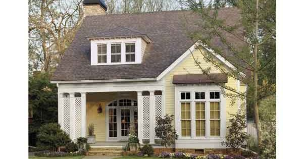 Cotton Hill Cottage from The Southern Living (HWBDO55639) | Cottage House Plan
