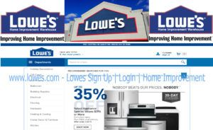 Www Lowes Com Lowes Sign Up Home Improvement Improve Home Look