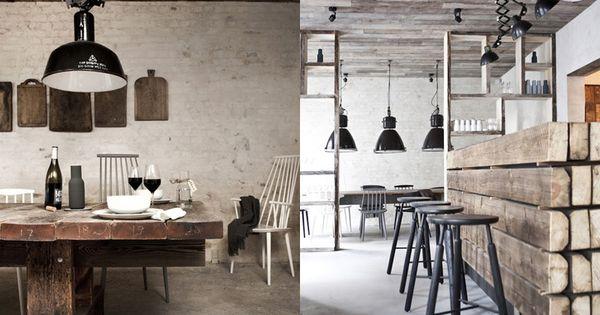 Los 27 mejores dise os de interiores de bares y restaurantes del mundo 2013 bar industrial - Interiores de restaurantes ...