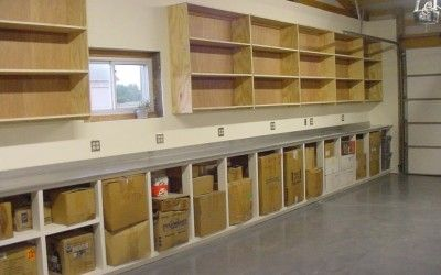 Garage Shelving Ideas Pictures