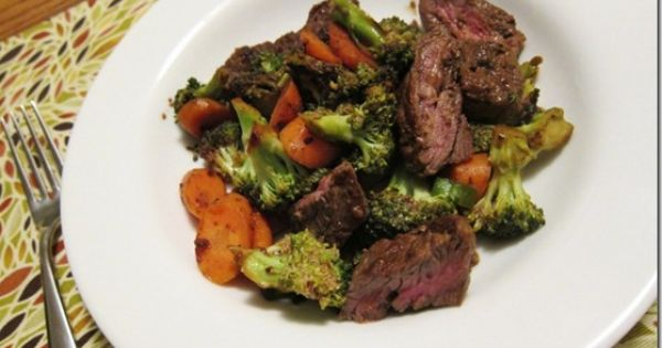Gingery Broccoli and Beef - dinner tonight :)