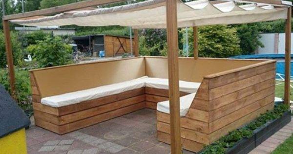 Eine super lounge idee von spax so k nnt ihr den sommer im garten genie en garten - Opslag idee lounge ...
