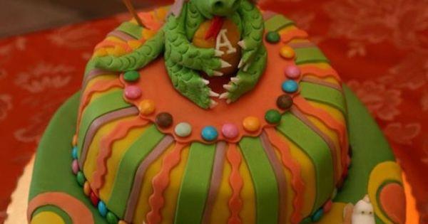 Dei idee Scala : Torta Drago - Drake Cake by Stefania Scala Idee per le feste dei ...