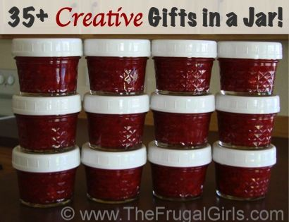 Easy Freezer Jam Recipe... such a cute gift idea