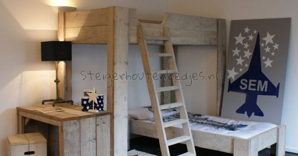 jongenskamer steigerhout google zoeken interieur