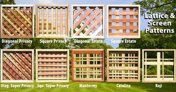 Privacy Screen Lattice Deck Lattice Privacy Screen Fence Toppers