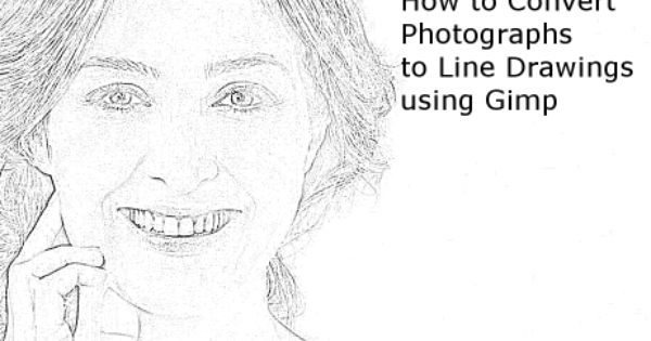 Line Art Using Gimp : How to convert photographs line drawings with gimp