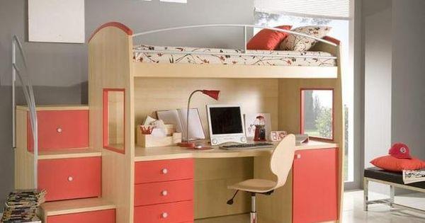 Tiny Box Room Ikea Stuva Loft Bed Making The Most Of: MUEBLES CAMAS CAMAROTES PARA EL DORMITORIO DE NIñOS En