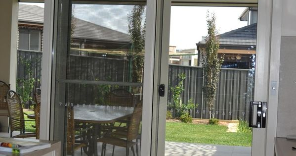 Roman blinds are great for sliding doors window for Nice sliding glass doors