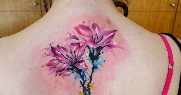Flores en Acuarelas by Javi Wolf | Tattoo, Tatoo and ...