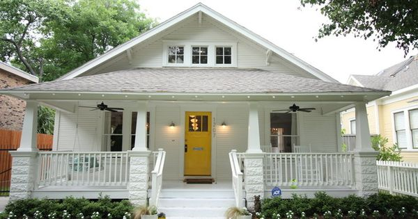 Traditional Exterior 1920 Craftsman Rehab In Houston