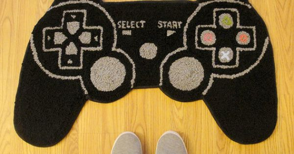 Ps3 controller inspired rug by wtcrafts on etsy Controller rug