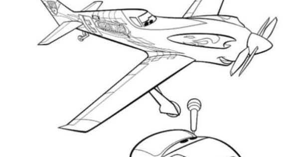 Coloring Page Planes Dusty Ripslinger Coloring Pages Disney