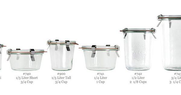 Weck Canning Jars Straight Weck Jars Canning Jars Jar