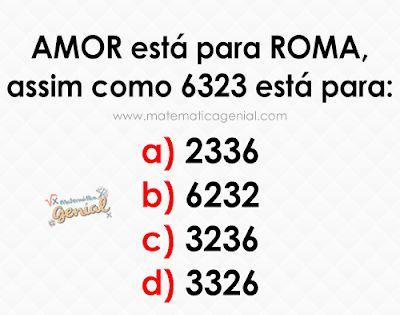 Desafio Amor Esta Para Roma Assim Como 6323 Esta Para